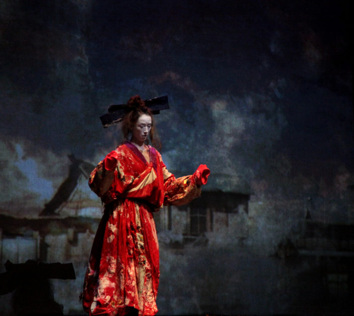 Ikkyü- mise en scène et scénographie Stéphane Vérité