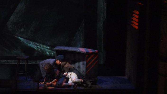 Le pauvre Matelot - mise en scène et scénographie Stéphane Vérité