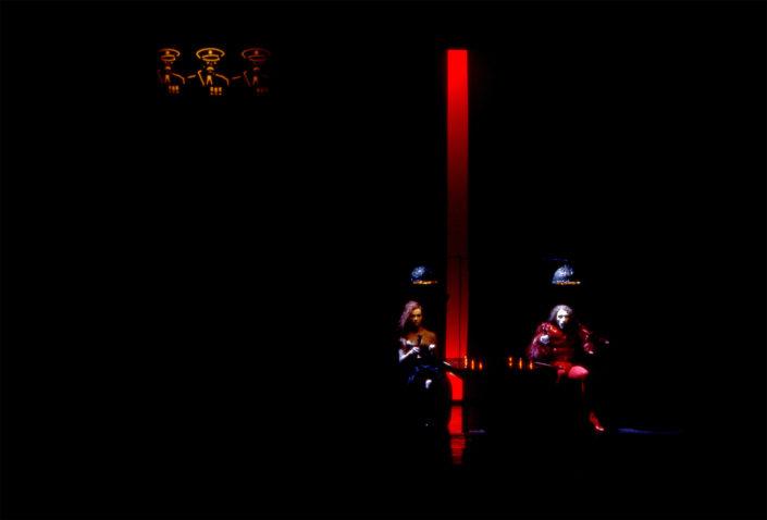 Quartett - mise en scène et scénographie Stéphane Vérité