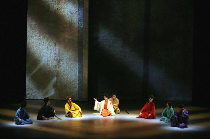 Zatoïchi- mise en scène et scénographie Stéphane Vérité